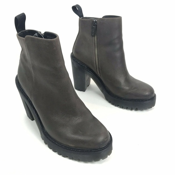 d0c0f1f4089b Dr. Martens Shoes | Doc Dr Martens Boots Brown Leather Magdalena ...